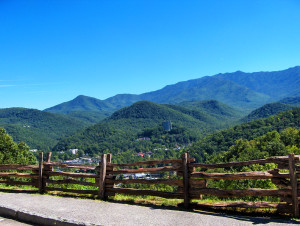 Overlook Of Gatlinburg