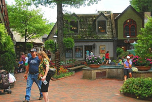 Gatlinburg shopping at the Village