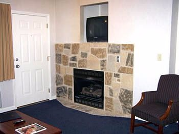 Fireplace for Best Western Twin Islands Rooms