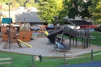 Play area for children at Best Western Twin Islands