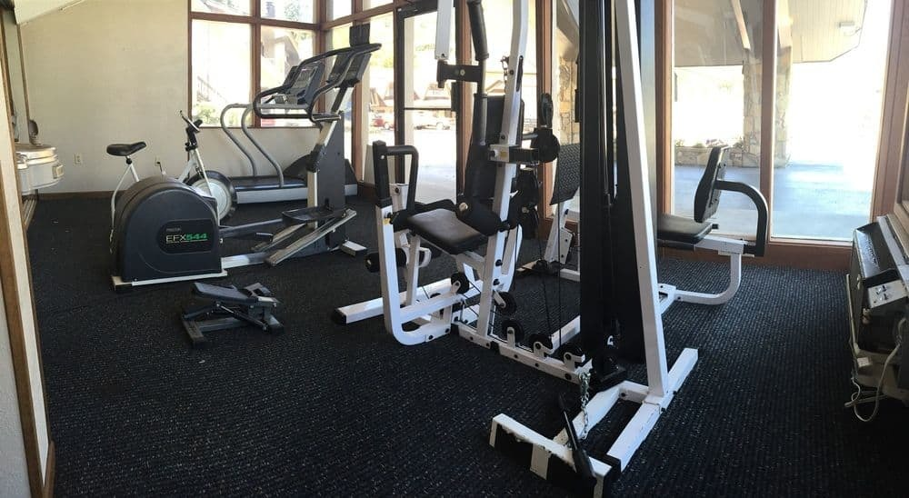 Sidney James Mountain Lodge Fitness Room