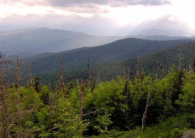 Southwest View From Clingmans Dome