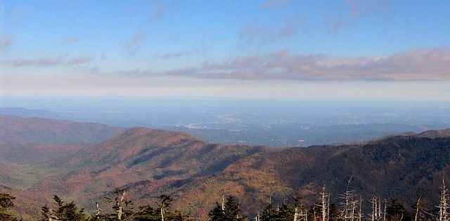 Clingmans Dome View Looking North